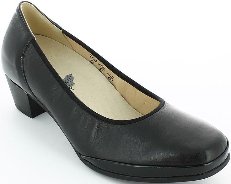 Pantofi cu toc Waldlaufer din piele