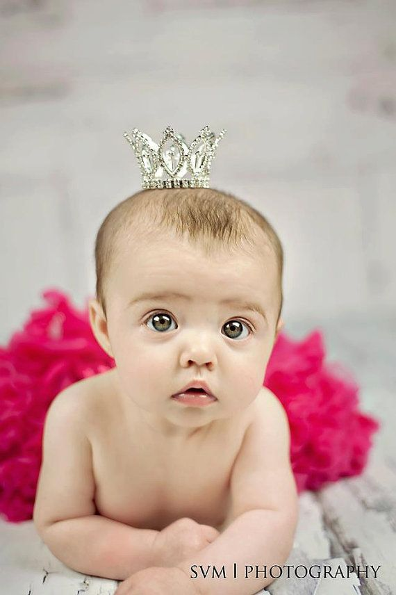 Deal of the day 6-7-13 through 6-9-13 $17 Newborn Crown- Photography Prop