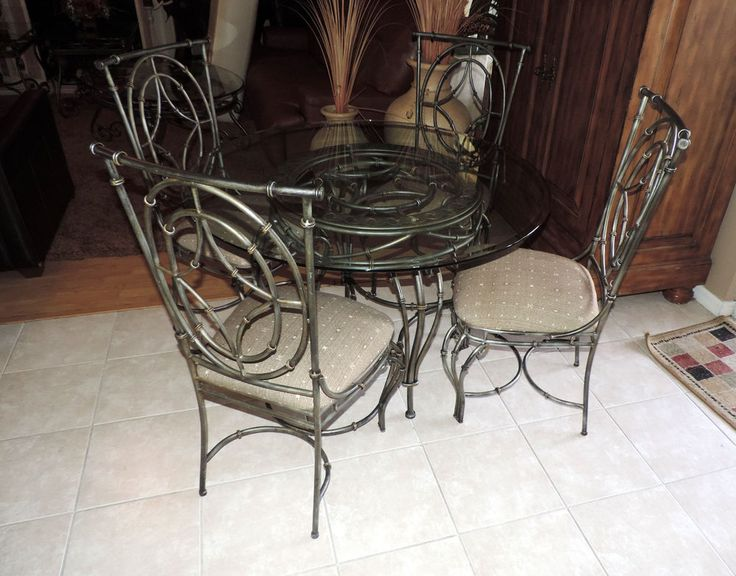 Metal Web Style Round Glass Top Dining Room Set WE SHIP ANYWHERE    Traditional333 best Crissy s List images on Pinterest   Ship  Loveseats and  . Ship Dining Room Set. Home Design Ideas