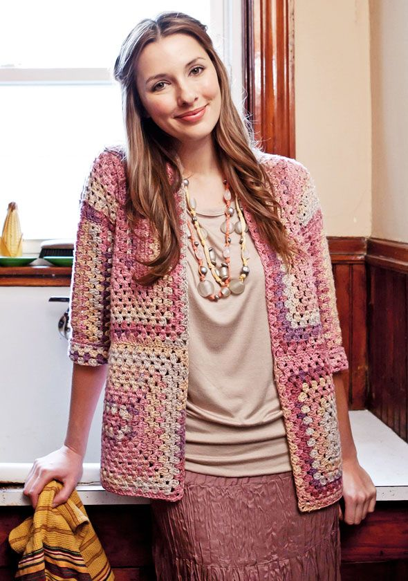 FREE granny jacket pattern