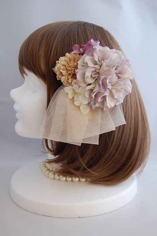 ヘッドドレス アンティークブーケ antique bouquet ab-008