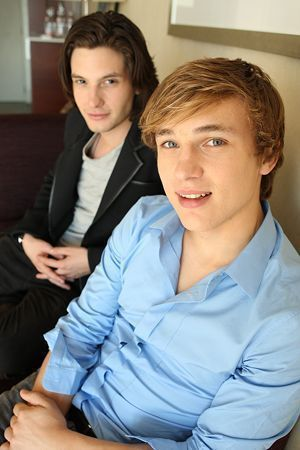 Ben Barnes as Murtagh and William Moseley as Eragon