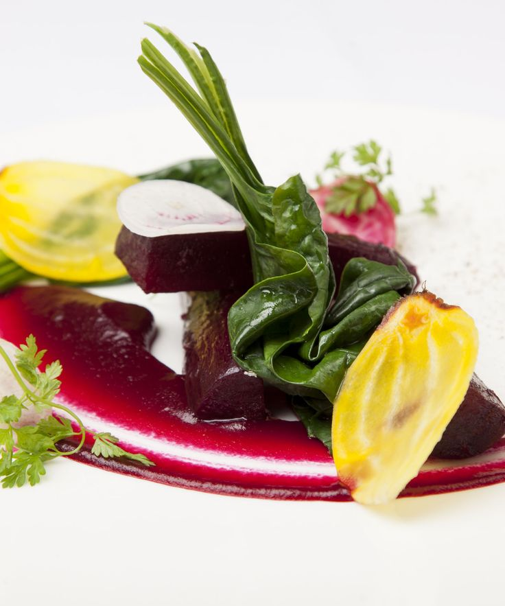 This elegant beetroot starter recipe from Daniel Galmiche finds the perfect balance between sweet and sharp thanks to the sweetly earthy roasted Cheltenham beetroot and tangy pickled quince.