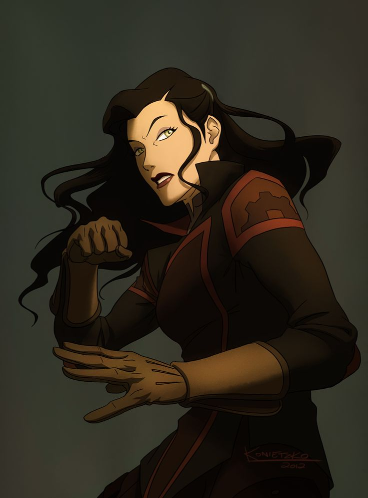 More fabulous stuff from Bryan K. #Asami this time. Asami was a total bad ass this last episode.