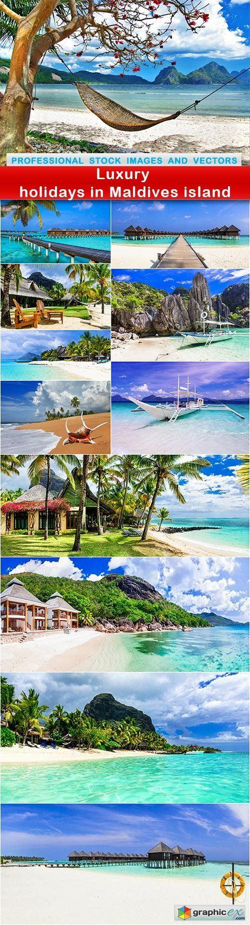 Luxury holidays in Maldives island  12 UHQ JPEG  stock images