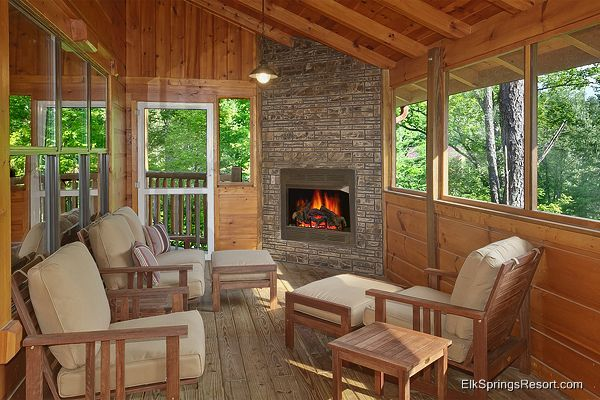 19 best images about converting the existing balcony into for Four season rooms with fireplaces