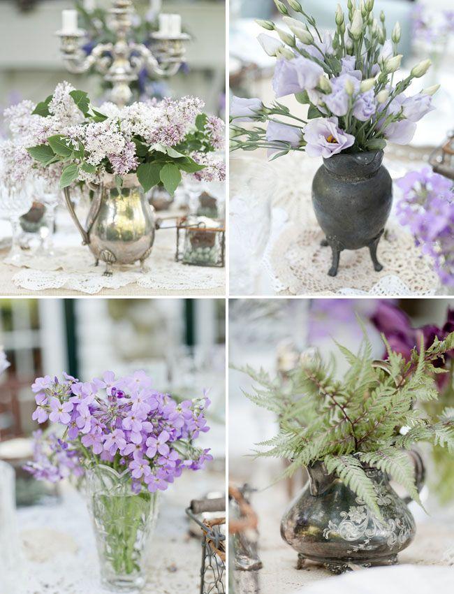Best lavender centerpieces ideas on pinterest floral
