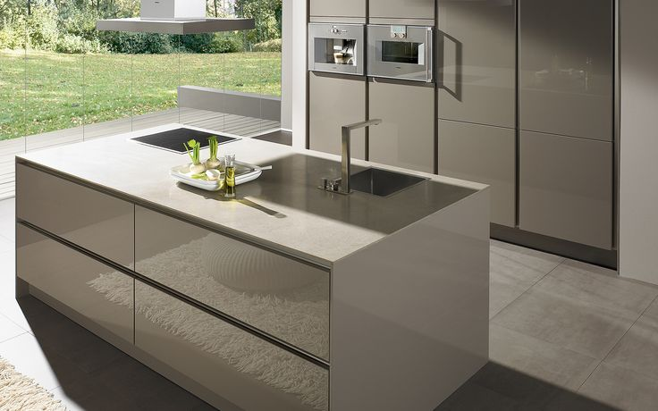 Modern Kitchen Without Handles S2
