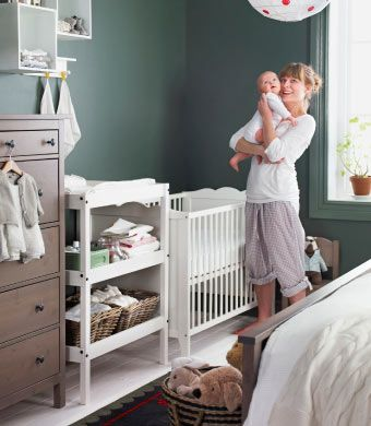 ikea sterreich schlafzimmer im landhausstil mit ecke f rs baby u a mit hemnes bettgestell. Black Bedroom Furniture Sets. Home Design Ideas