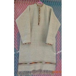 Handmade wool shirts and ponchos