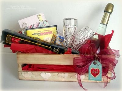 Date night gift basket | Date night gift baskets, Gift ... |Valentines Day Gift Baskets For Couples