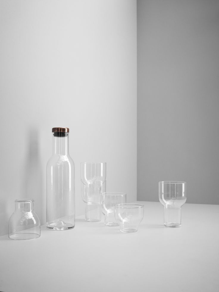 MENU Stackable Glass, MENU Carafe