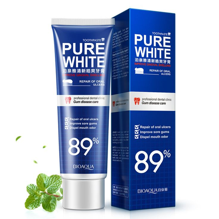 BIOAQUA Herbal Mint Fresh Toothpaste Whitening Remove Yellow Stains Halitosis Plaque Reduce Gingivitis Dentifrice Clean Dental #Affiliate