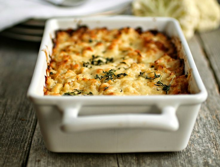 Cauliflower and Gruyere Gratin | hungrycouplenyc.com