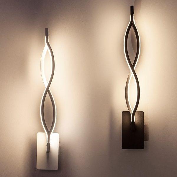 Modern Lustre Minimalist Led Wall Light Indoor 16w Wall Sconce