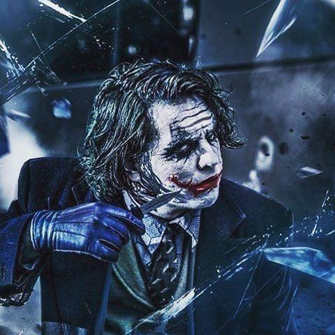 Do you know how I got these scars?! #joker #darkknight #heathledger #jokerloverss #dccomics