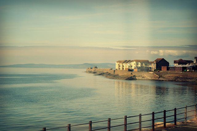 From the Glasgow train to Ardrossan Harbour - Scotland