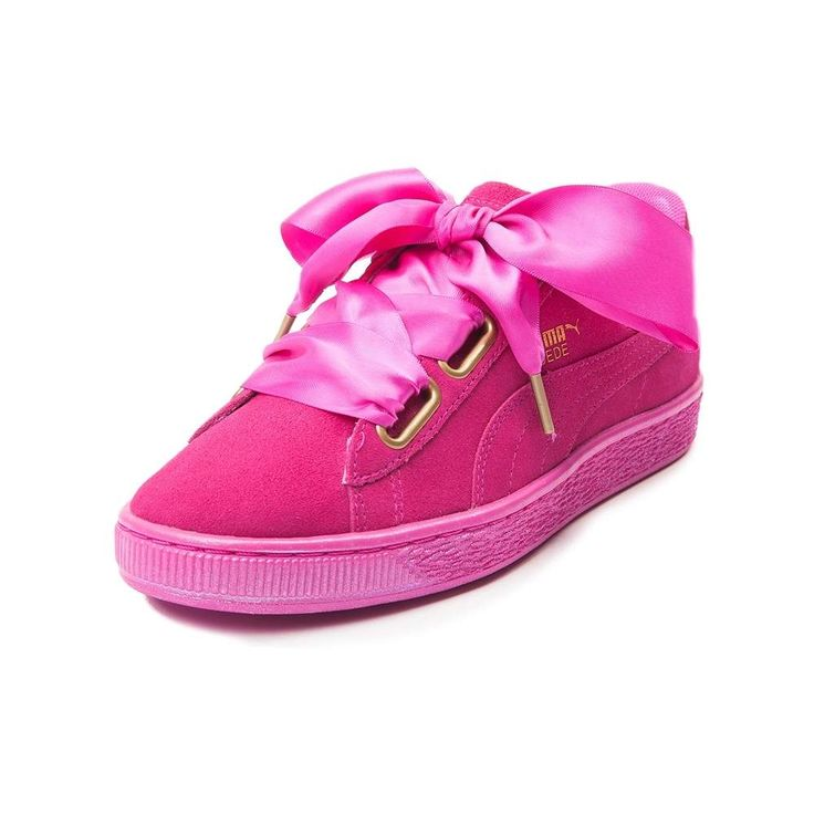 Womens Puma Suede Heart Athletic Shoe