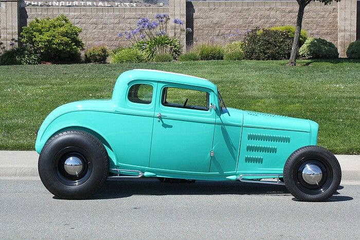 Cliff Hanson - 1932 Ford 5 Window Coupe - Newport Beach CA