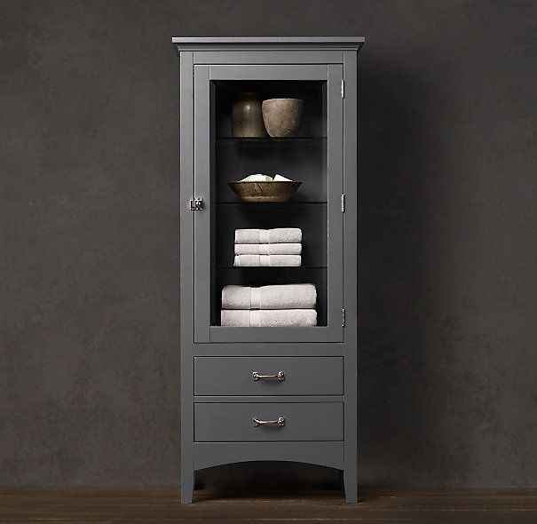 restoration hardware bathroom | Restoration Hardware CARTWRIGHT TALL CABINET. ... | Restoration hardw ...