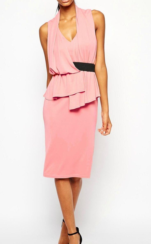 Best 25 Pink Pencil Dress Ideas On Pinterest