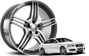 "Welcome to our RIVA 18""£432 Alloy wheels Range"