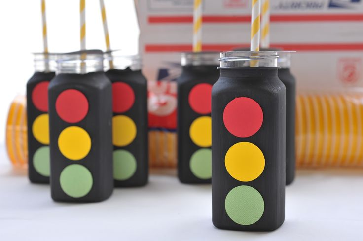 Traffic Light drink containers