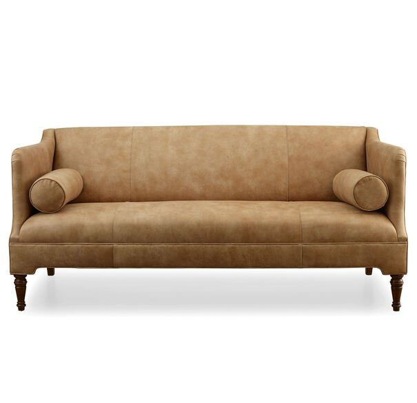 Bennett Leather Sofa Mitchell Gold Bob Williams Leather Sofa Sofa Washable Slipcovers