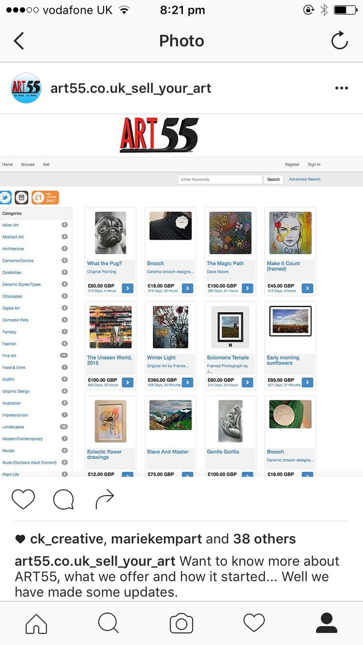 Today our guest is Mark Fowkes, the director of ART55. A website designed to help artists who can't afford a website of their own, to sell their work. We have conducted an interview with Mark.