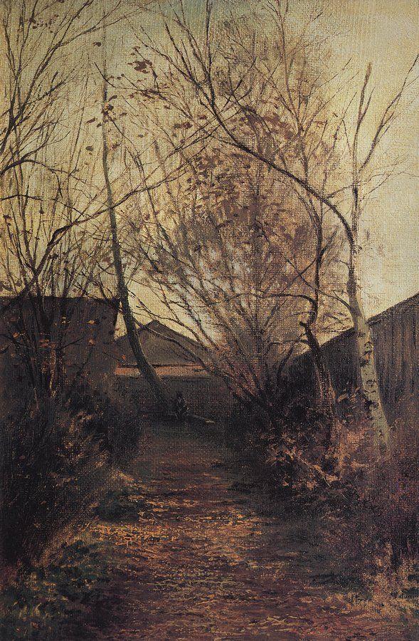 Аллея, 1870-е
