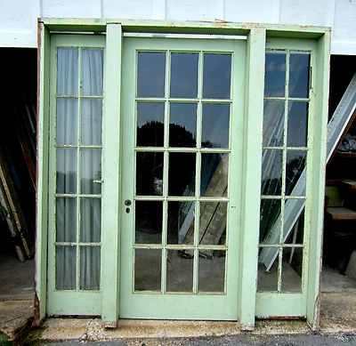 78 best images about interior french doors on pinterest for French doors with windows on each side