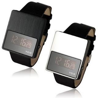 Minimalist Digital Watch - VOID