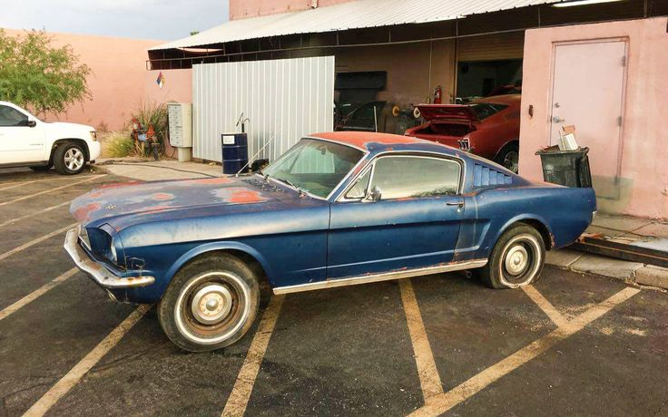 Fastback Barn Find: 1965 Ford Mustang - http://barnfinds.com/fastback-barn-find-1965-ford-mustang/