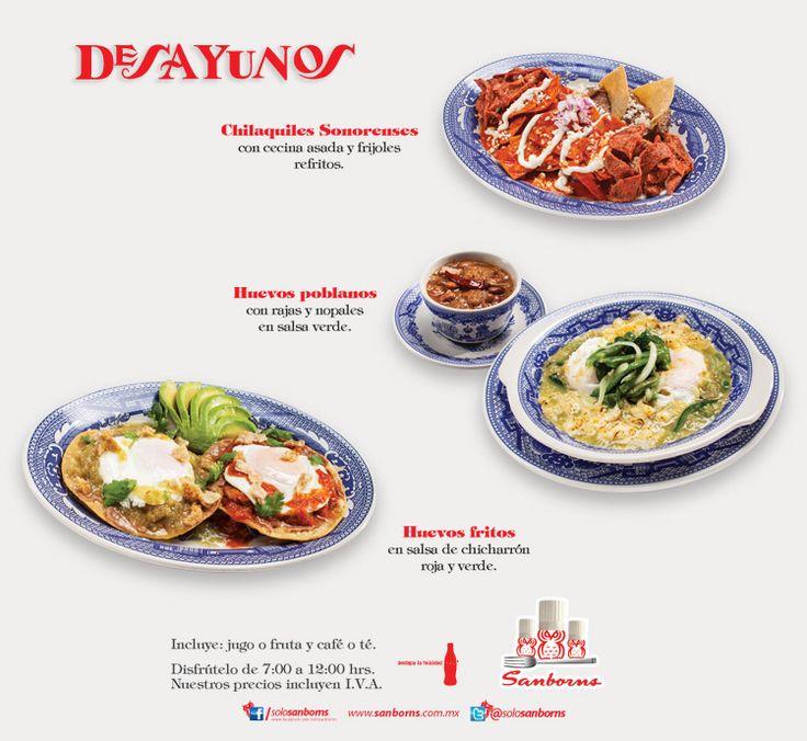 Dasayuos sanborns agosto 2014 platillos de cafeteras for Menu de sanborns