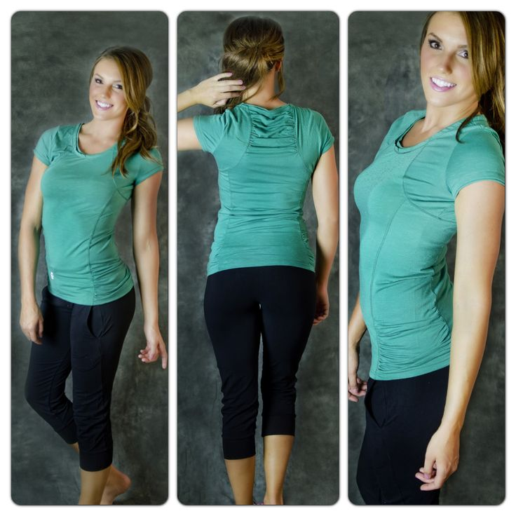 Cool things down with our gorgeous green tees! Our Get Slim Tees are only $16.99 They come in purple, hot pink, and green. Get them here: getfitwear.com/...