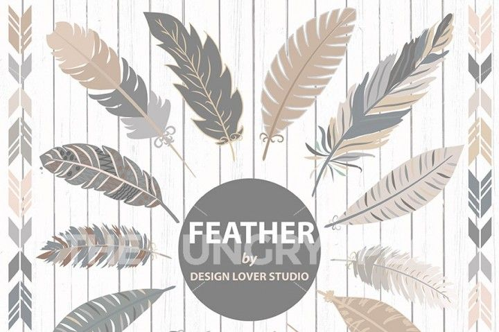 VECTOR , Hand Drawn clipart feathers, feather clipart, navy clipart, Navaho clipart, feathers, Native American Style, feather clipart, feather vector, tribal vector, feather clip art, rustic clipart, wood background, native, native vector, tribal feather,