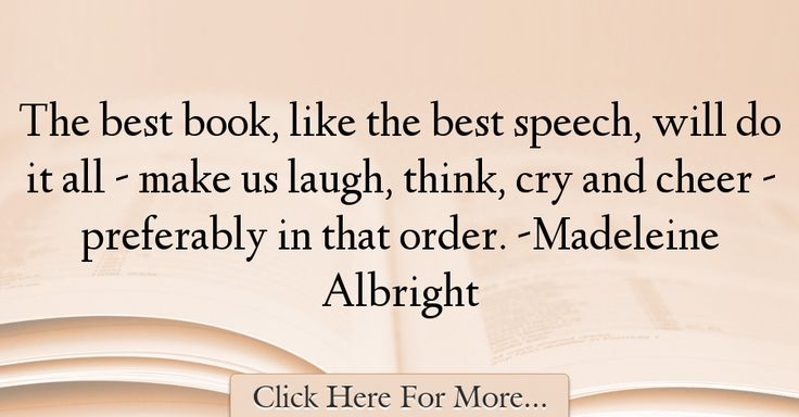 Madeleine Albright Quotes About Best - 6963