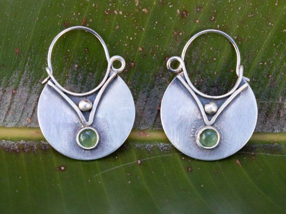 Dangle earrings Sterling silver earrings Silversmith by SILVERstro