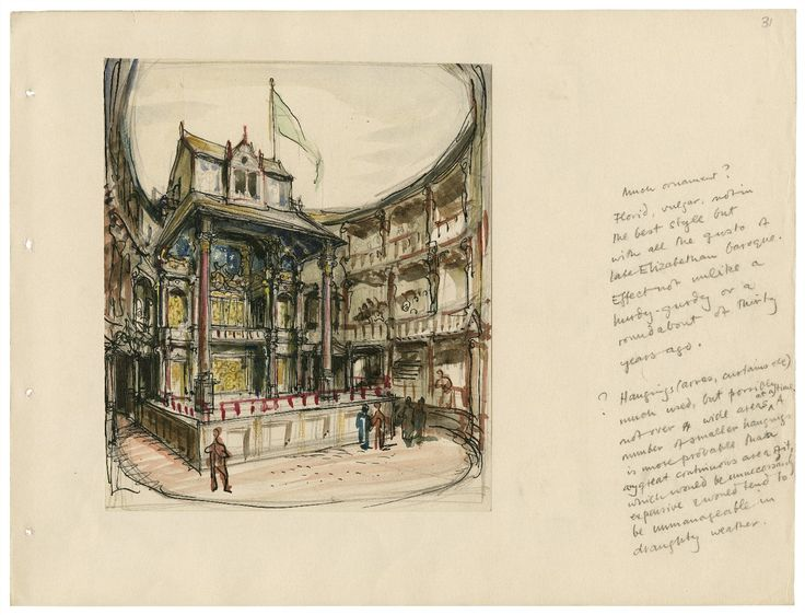This source talks about William Shakespeare´s Theater, his work during his life time.