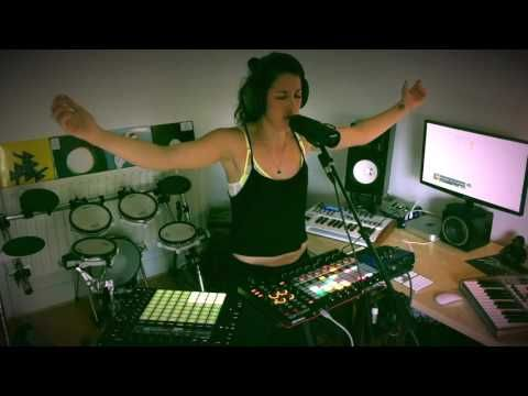 """Ableton Push and APC 40 MKII Performance """"Caught Out There"""" (Kelis Cover) - YouTube"""
