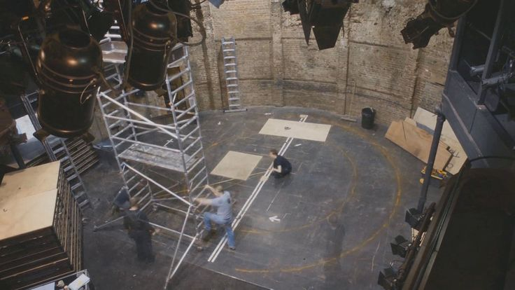 Chimerica Time Lapse | Almeida Theatre, London. Watch the set of Lucy Kirkwood's Olivier Award-winning 'Chimerica' being built in the Almeid...