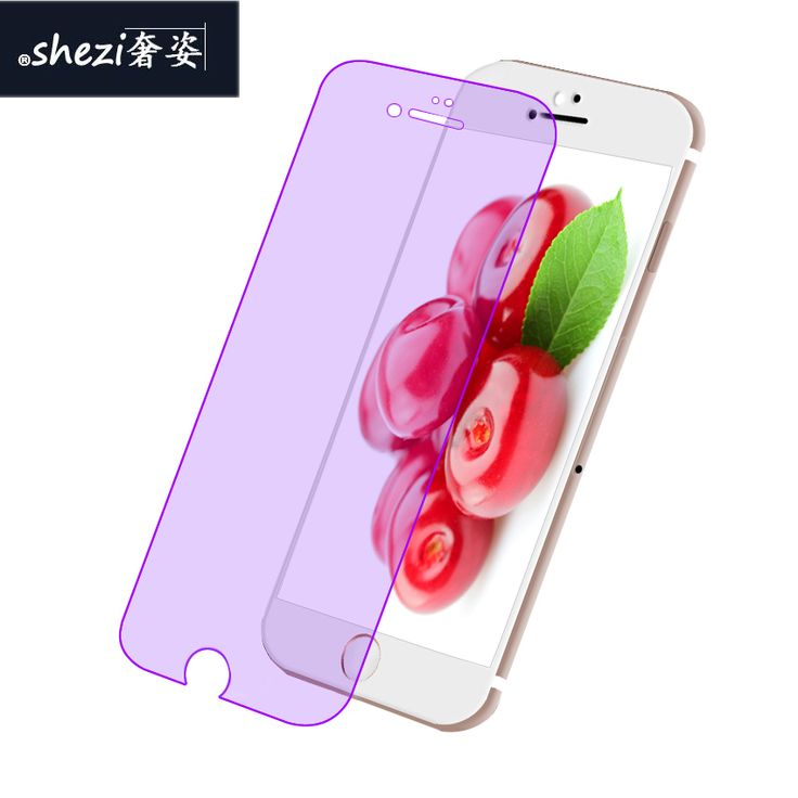 Mobile Phone 6 6s plus of HD Tempered Glass Protective Film,Anti Bule/blu-ray Screen Protector For iPhone 4 5 5s 6 6S 7 7S Plus