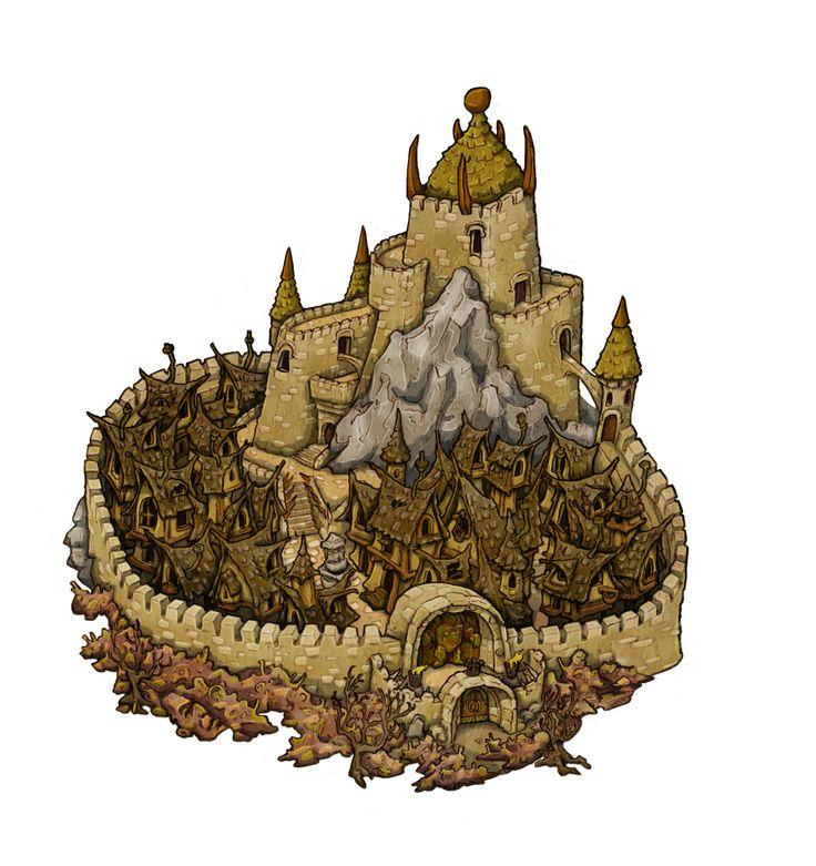 ArtStation - Labyrinth Board Game Illustration , Johnny Fraser-Allen