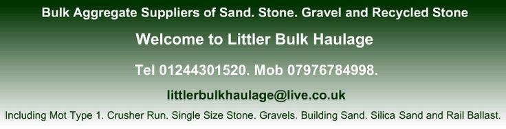 Building Aggregate Suppliers - Littler Bulk Haulage Cheshire