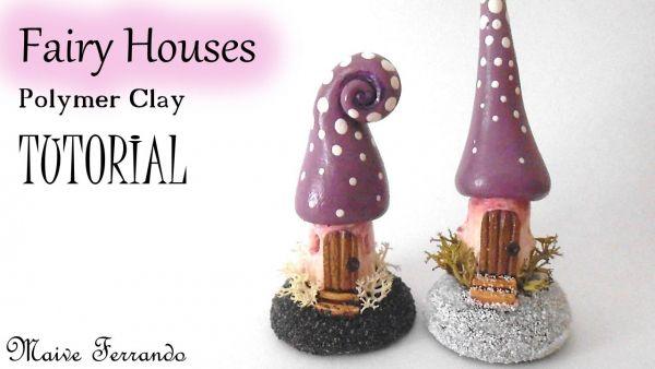Tutorial: Mini Fairy Houses