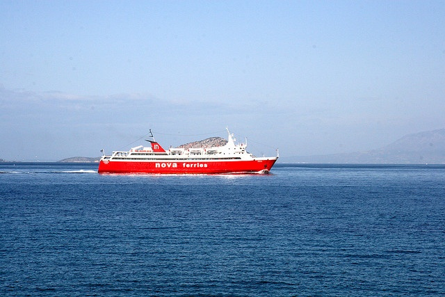 Nova Ferries - connecting Piraeus with Aegina town