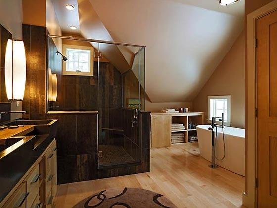 Gorgeous bathroom by Peregrine Design/Build