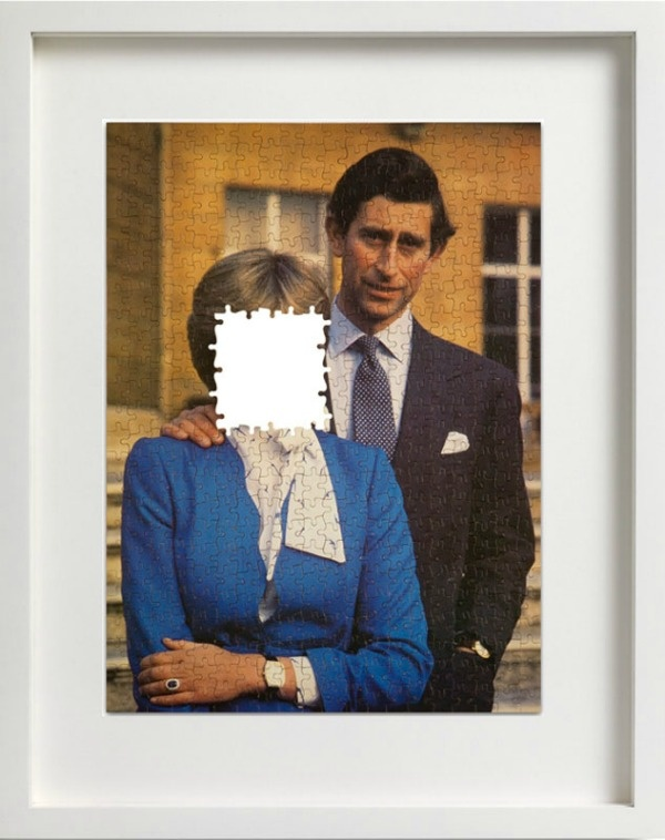Ian Stevenson | Charles and Diana Forever  Adapted jigsaw puzzle