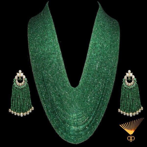 Zambian Emeralds strands