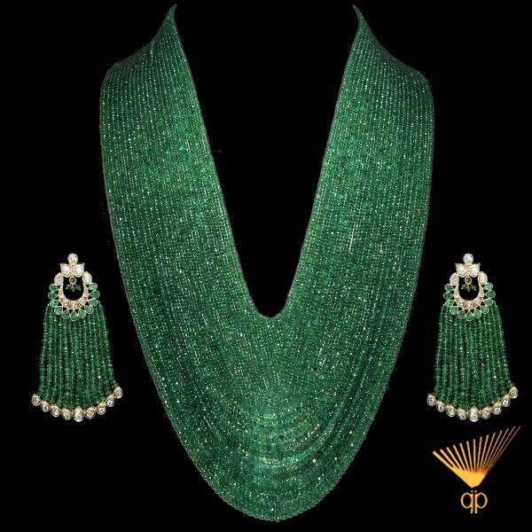 Zambian Emeralds strands